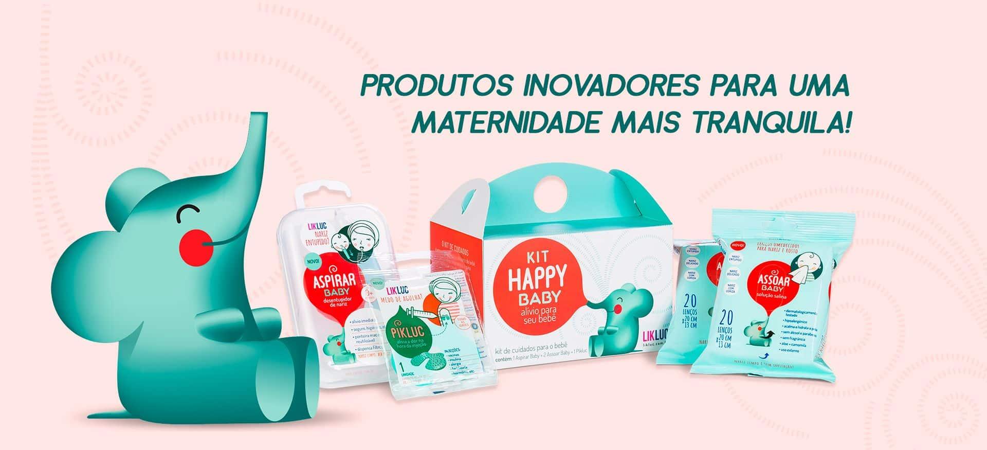 Likluc, produtos inovadores para uma maternidade mais tranquila