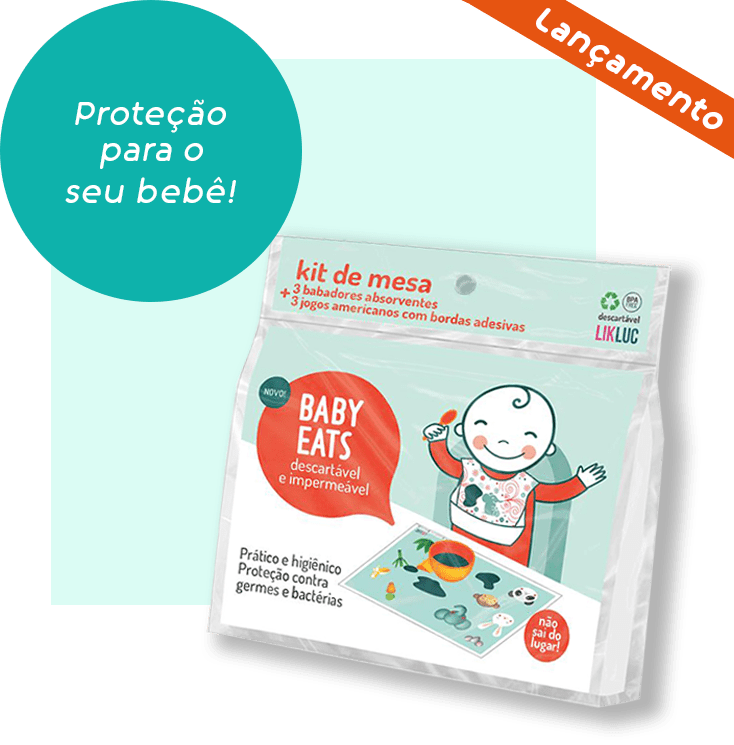kit de mesa baby eats